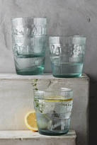 Anthropologie Imprint Water Glass Set