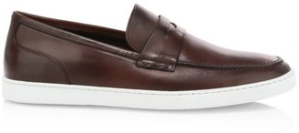 To Boot Chelsea Cloud Cacao Leather Penny Loafers