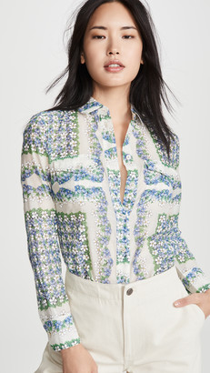 Tory Burch Printed Cotton Blouse