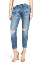 Blank NYC Women's Blanknyc Ripped Mom Jeans