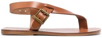 Maison Margiela Strappy Flat Sandals