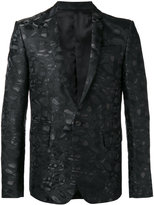 Les Hommes jacquard blazer