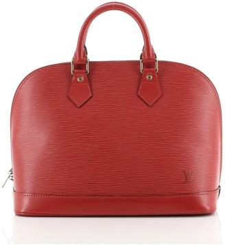 Louis Vuitton Vintage Alma Handbag Epi Leather PM