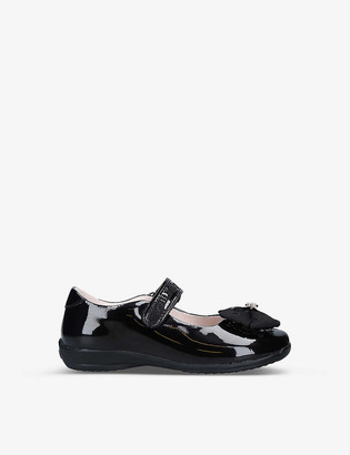 Lelli Kelly Kids Emma bow-embellished patent leather dolly shoes 4-9 years