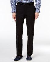 Tallia Men's Slim-Fit Black Cotton Dress Pants