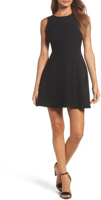 19 Cooper Double Crepe A-Line Dress