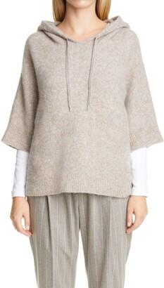 Fabiana Filippi Wool & Alpaca Blend Boucle Hood