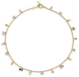 Gas Bijoux Tangerine Beaded Necklace