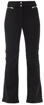 Fusalp Elancia Ii High-rise Soft-shell Ski Trousers - Black