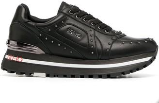 Liu Jo Logo Studded Sneakers