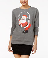 Mighty Fine Juniors' Santa Break The Season Graphic Sweatshirt