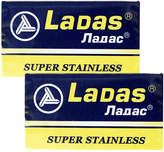 Smallflower Super Stainless Double Edge Blades by Ladas (10 Blades)