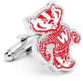 NCAA Wisconsin Badgers Cuff Links