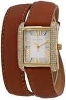 Michael Kors Women's Emery MK2360 Leather Leather Quartz Watch