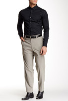 "Louis Raphael Modern Fit Micro Houndstooth Pant - 30-34"" Inseam"