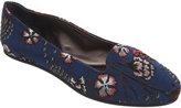 Rochas Floral Brocade Slip-On