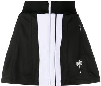 Palm Angels Zipped Short Skirt