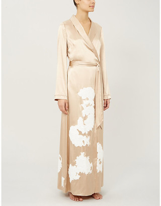 Myla Primrose Hill silk-satin robe