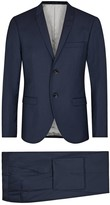 Tiger Of Sweden Tonic Navy Wool Blend Suit