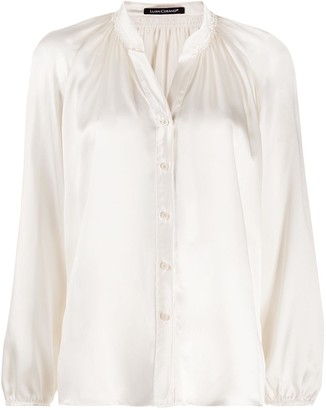 Luisa Cerano Open Neck Blouse