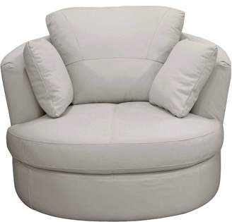 Argos Home Milano Leather Swivel Chair