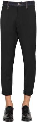 DSQUARED2 Hockney Wool Blend Cady Pants