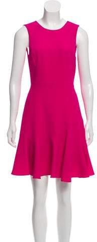 Rebecca Taylor Crepe Flippy Dress