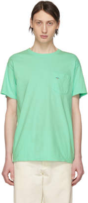 Noah NYC Green Pocket T-Shirt