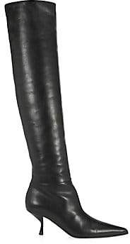 The Row Women's Bourgeoise Leather Boots