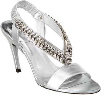 Roger Vivier Jewel Leather Sandal