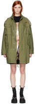 R 13 Green Gusseted M65 Jacket