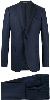 Emporio Armani Navy Blue Two-Piece Suit