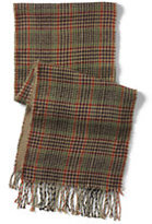 Classic Men's CashTouch Plaid Scarf 2-Ply-Camel Heather Plaid