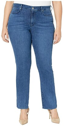 NYDJ Plus Size Plus Size Marilyn Straight Jeans in Habana (Habana) Women's Jeans