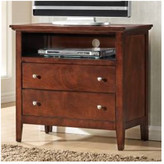 Wildon Home Whiskey 2 Drawer Media Chest