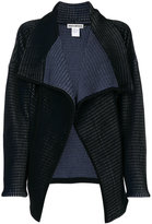 Issey Miyake open wide collar cardigan