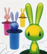 Alessi Magic Bunny Toothpick Holder Blue