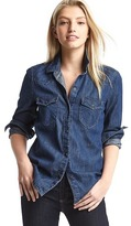 Gap 1969 Denim Western Shirt