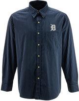 Antigua Men's Long-Sleeve Detroit Tigers Button-Down Shirt