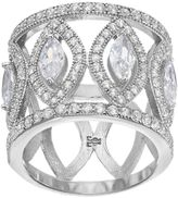 JLO by Jennifer Lopez Red Carpet Ready Cubic Zirconia Openwork Marquise Ring