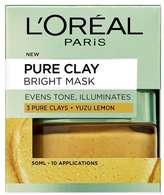 Garnier L Oreal Paris Pure Clay Bright Face Mask 50ml