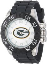 Game Time Men's NFL-BEA-GB Beast Round Analog Watch