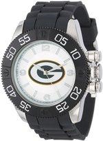 Game Time Men's NFL-BEA-GB Beast Round Analog Watch