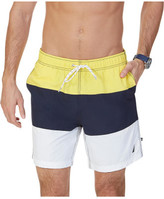 """Nautica 18"""" Anchor Tri-block Swim Short"""