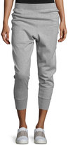 Vince Cotton-Blend Relaxed Jogger Pants, Gray