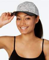 Vince Camuto Mixed Media Baseball Hat