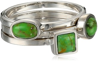 """Barse Basics"""" Lime Turquoise Stackable Ring Size 6"""