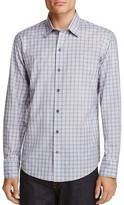 Zachary Prell Cristiano Plaid Regular Fit Button-Down Shirt