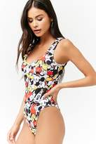 Forever 21 Mickey Mouse One-Piece Swimsuit