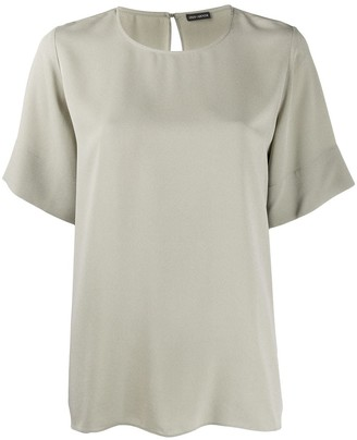 Iris von Arnim Short Sleeve Loose Fit Top